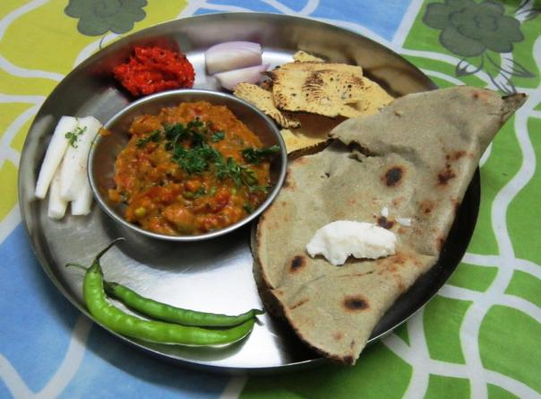 Indian Ghar ki Thali